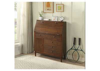 Image for Wyanie Walnut Office Cabinet