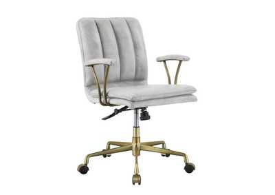 Image for Damir Vintage White/Chrome Office Chair