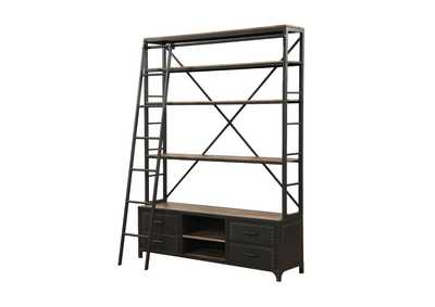 Actaki Sandy Gray Bookshelf