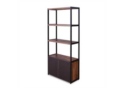Image for Sara Espresso/Sandy Black Bookcase