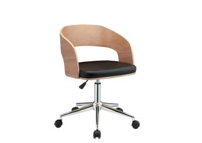 Image for Yoshiko Black/Beech Office Chair