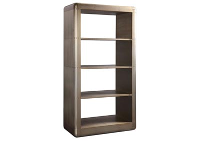 Image for Jennavieve Gold Aluminum Bookcase