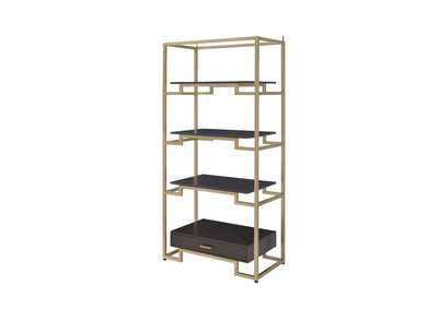 Yumia Gold Bookshelf