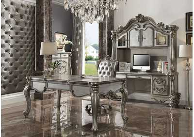 Versailles Antique Platinum Executive Desk