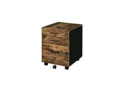 Image for Abner Weathered Oak File Cabinet