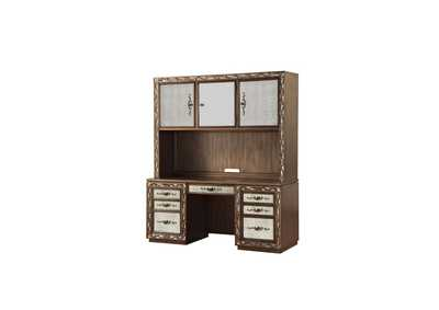 Image for Orianne Antique Gold Desk