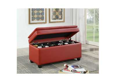 Image for Nitsa Aqua Haze Bench w/Storage