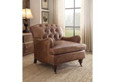 Image for Durham Retro Brown Accent Chair