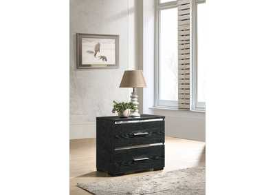 Laleh Black (High Gloss) Accent Table