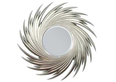 Image for Geena Silver Accent Mirror