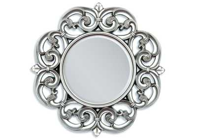 Image for Gerald Silver Accent Mirror