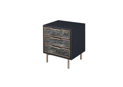 Image for Arbyrd Black/Champagne Accent Table
