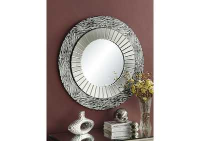 Image for Amara Mirrored Accent Mirror
