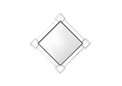 Image for Asbury Mirrored & Chrome Wall Mirror