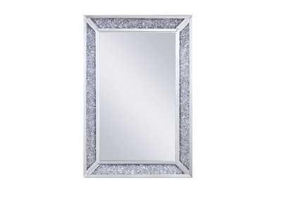 Noralie Mirrored & Faux Diamonds Wall Decor