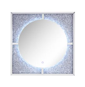 Image for Nowles Mirrored & Faux Stones Wall Decor