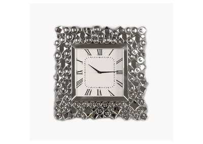Kachina Mirrored & Faux Gems Wall Clock