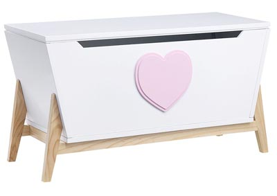 Image for Padma White/Pink Youth Chest