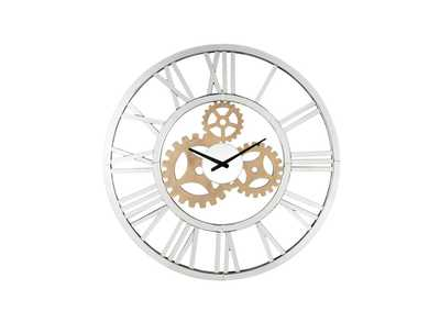 Image for Acilia Mirrored Wall Clock