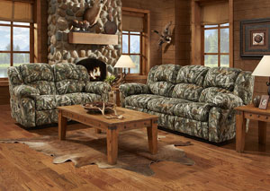 Image for Next Camo Reclining Loveseat