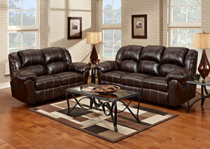 Image for Brandon Brown Reclining Loveseat