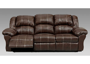 Image for Brandon Brown Reclining Sofa