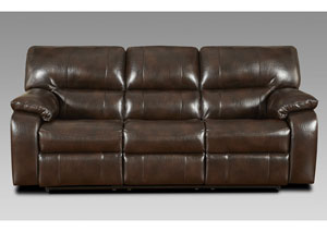 Image for Canyon Chocolate Reclining Sofa