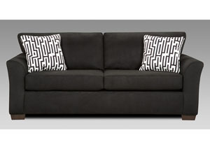 Image for Sensations Black Sofa