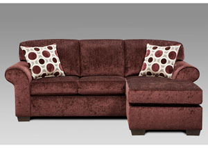 Image for Prism Elderberry Sofa w/Chaise