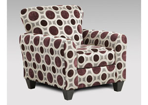 Image for Conspiracy Mulberry Accent Chair