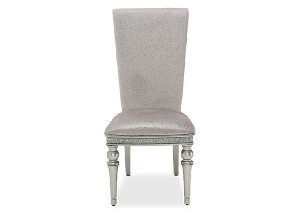 "Melrose Plaza""Assm. Side Chair""Dove,AICO"