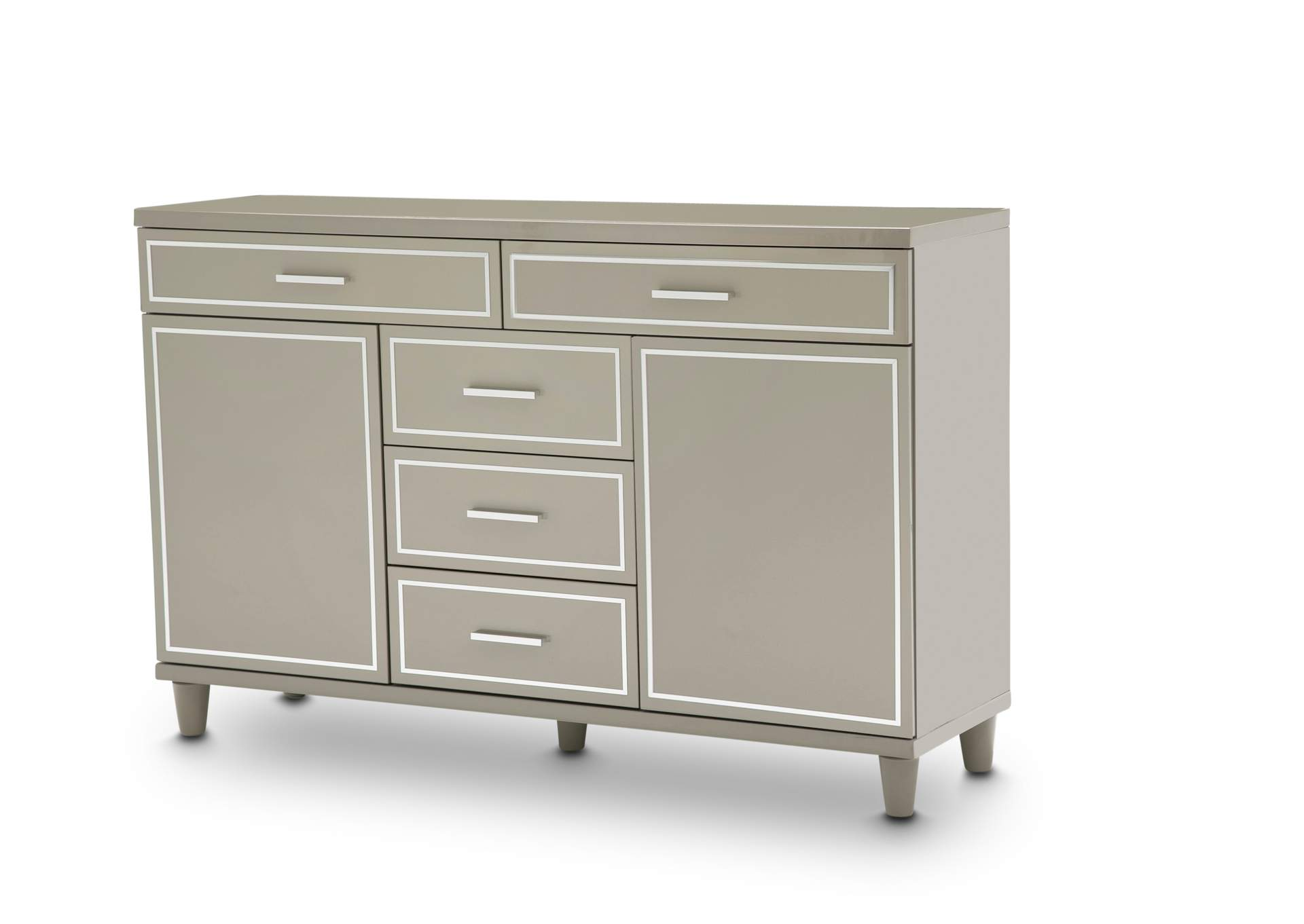 Urban Place Dove Grey Urban Place Dresser Dove Gray,AICO