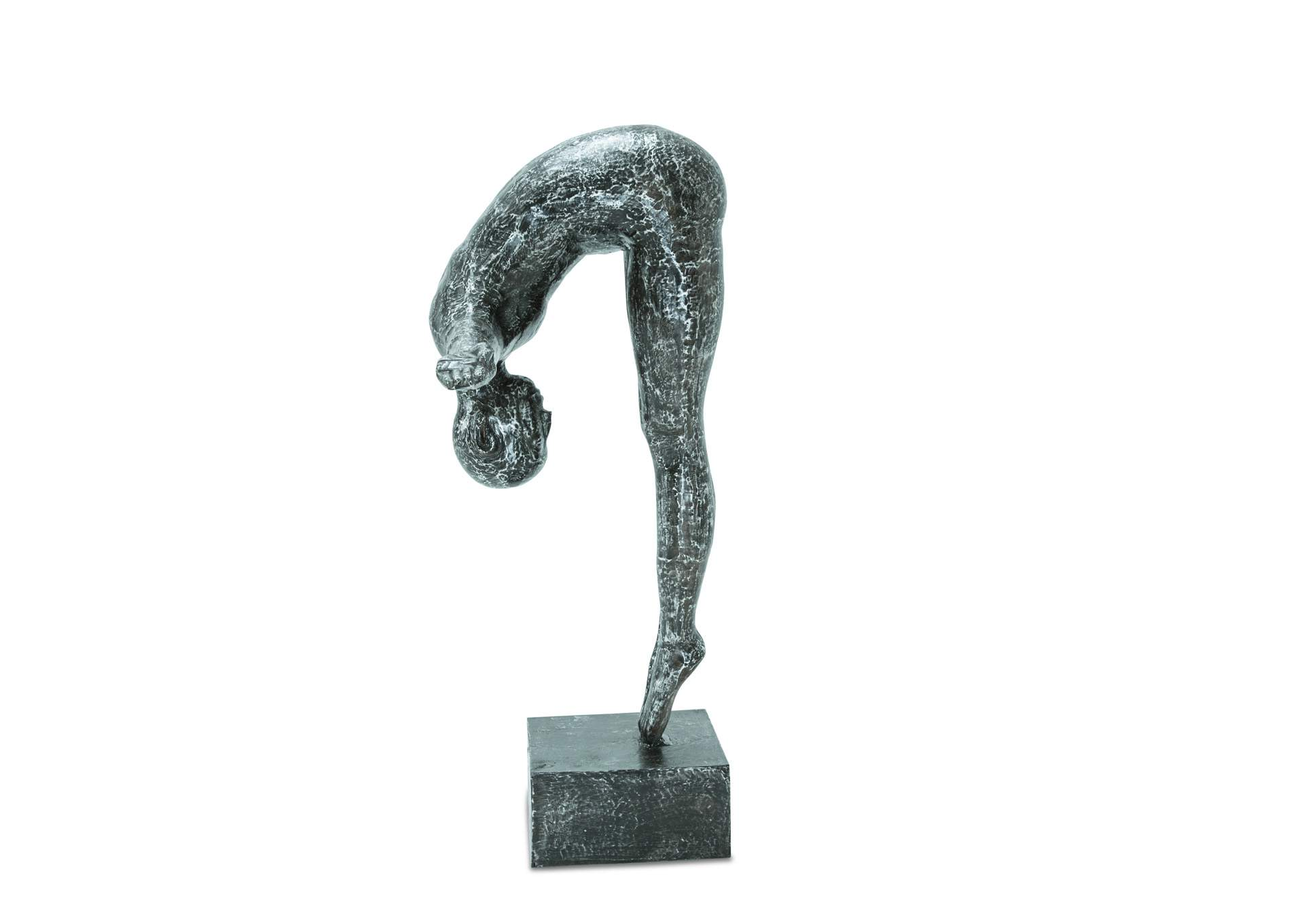 Diver in Motion on Cast Aluminum Base,AICO