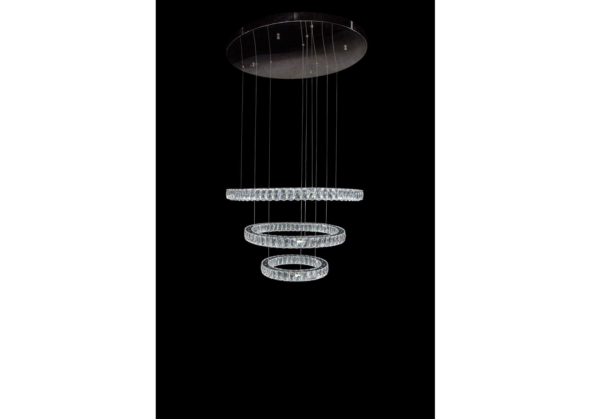Asteroids Crystal LED Chandelier,AICO