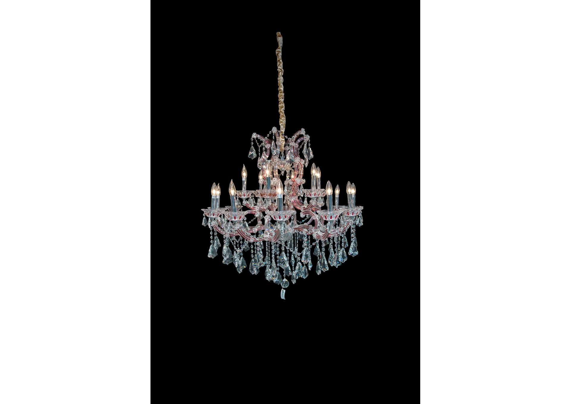 "Palacio""19 Light Chandelier"",AICO"