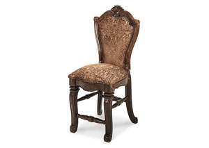 "Image for Windsor Court""Counter Height Chair "" Vintage Fruitwood"