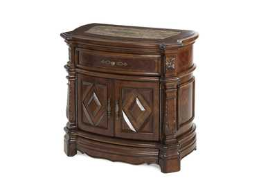 "Image for Windsor Court""Night Stand"" Vintage Fruitwood"