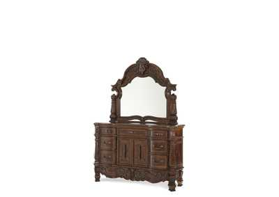 Image for Windsor Court Vintage Fruitwood Dresser Mirror