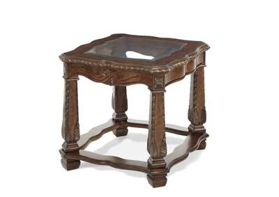 "Image for Windsor Court""End Table"" Vintage Fruitwood"