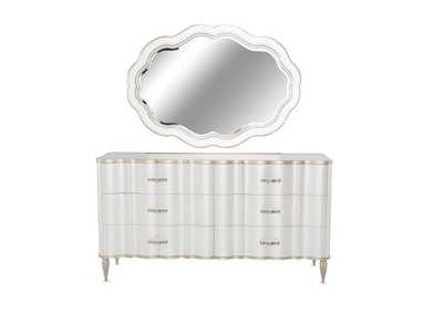 "Image for London Place""Dresser and Mirror""Creamy Pearl"