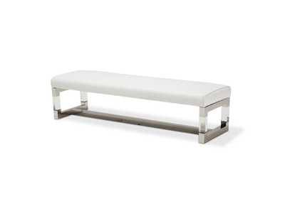 "State St.""Non Storage Bed Bench""Stainless Steel"