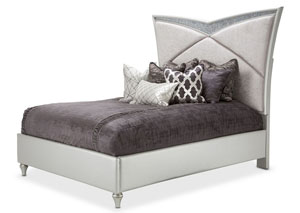 Image for Melrose Plaza Dove Eastern King Upholstered Bed
