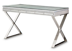 Image for Melrose Plaza Dove Writing Desk