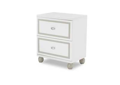 Image for Sky Tower White Nightstand