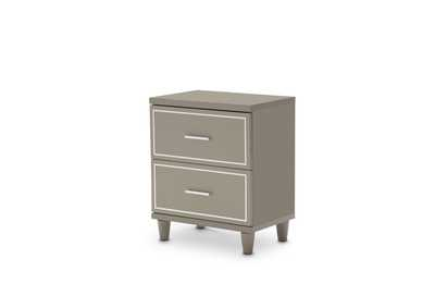 Image for Urban Place Dove Grey Urban Place Nightstand Dove Gray