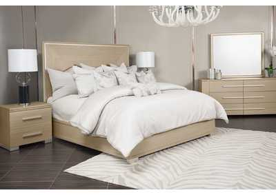"Image for Laguna Ridge""King Panel Bed""Washed Oak"