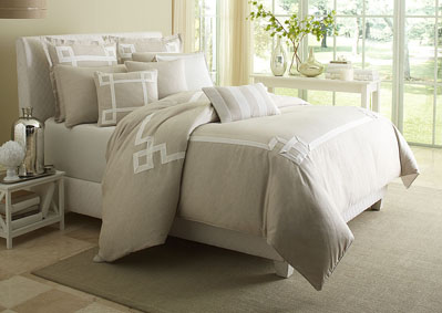 Image for Avenue A Natural 10 pc. Comforter Set