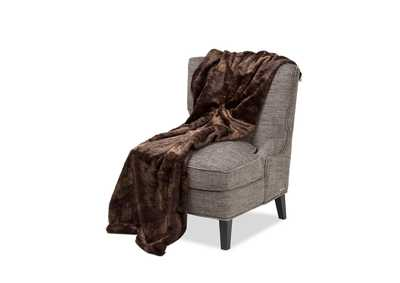Bailey Dark Brown 56X72 Throw