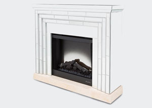 Image for Montreal Fireplace w/Marble