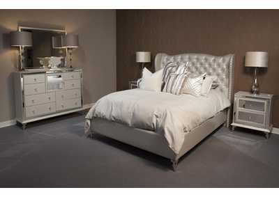 "Image for Hollywood Loft""California King Bed""Frost"